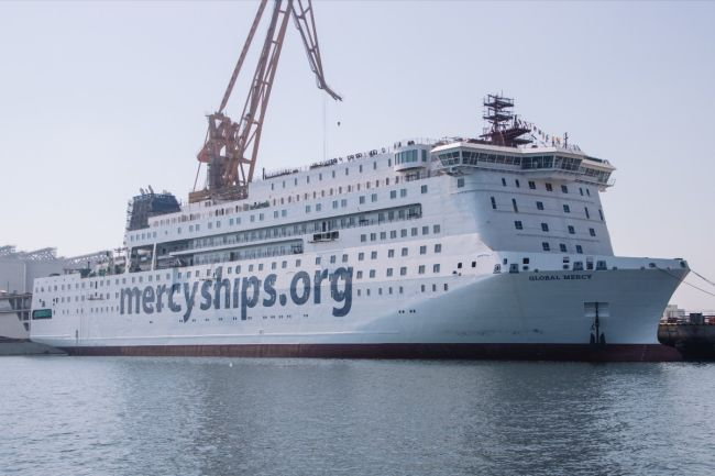 I-Tech Donates Their Antifouling Technology, Selektope(R) To Mercy Ships To Protect New Hospital Ship From Barnacle Fouling