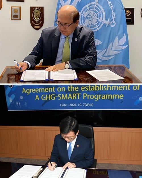 IMO and korea GHG Emissions