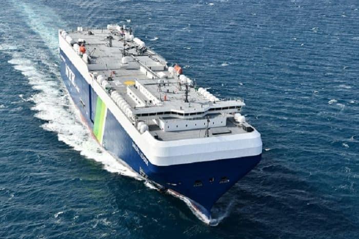Japan's First LNG-Fueled PCTC Delivered - NYK Sakura Leader