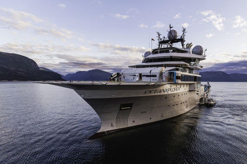 OceanXplorer in the fjords of Norway LR