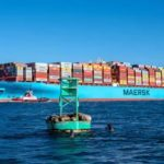 Maersk Container Ship Loses Around 750 Containers In The Pacific