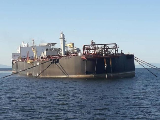 Venezuelan counterparts that the FSO Nabarima is now 'temporarily stable'