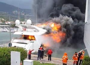 Yacht-on-Fire