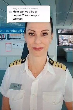 how can a woman be a captain image