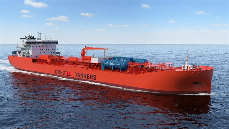 prototype fuel cell will be tested at the Sustainable Energy Catapult Centre at Stord, Norway prior to being installed aboard one of Odfjell's newest chemical tankers for a trial period