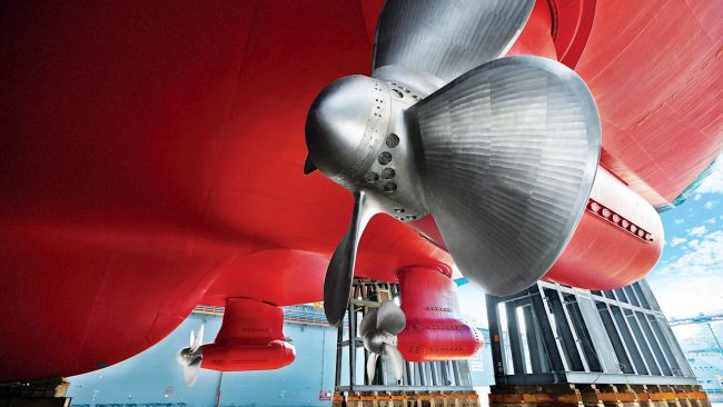 ABB Azipod icebreaking propulsion