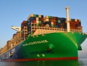 CMA CGM Jacques Saade - World's largest lng powered container ship - hamburg