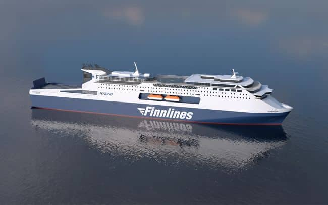Finnlines Orders Wärtsilä Engines And Hybrid Systems For Its Two New Eco-Friendly Ferries