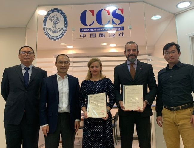 First full-flow ballast water management system to receive Chinese Flag and CCS Type Approvals