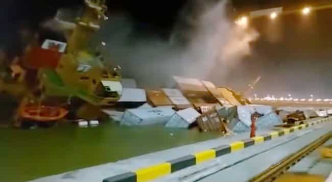 Indonesian-Container-Ship-Capsized
