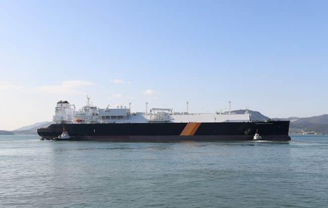 LNG carrier Diamond Gas Metropolis