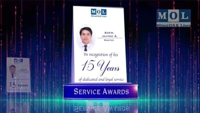 MOL Presents Long-Service Awards, Hosts Family Day For Filipino Seafarers