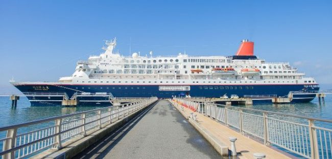 Nippon Maru at Tateyama port