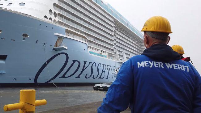 Odyssey of the seas - Meyer werft -