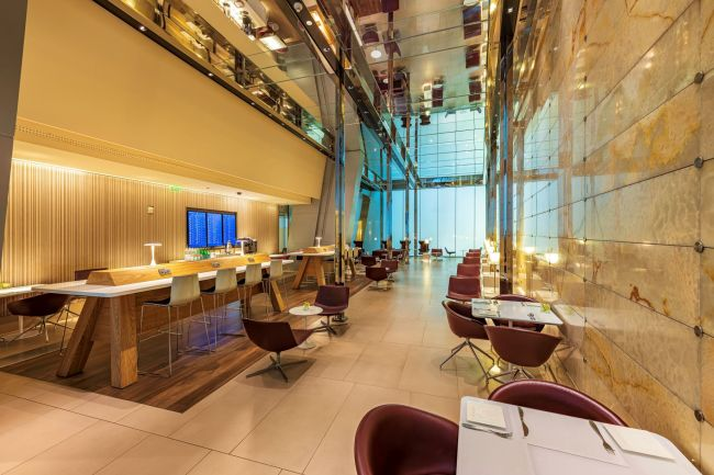 Qatar Airways Mariner Lounge Doha _