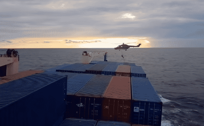 Ship Bound For Libya Gets Intercepted And Raided By German Forces