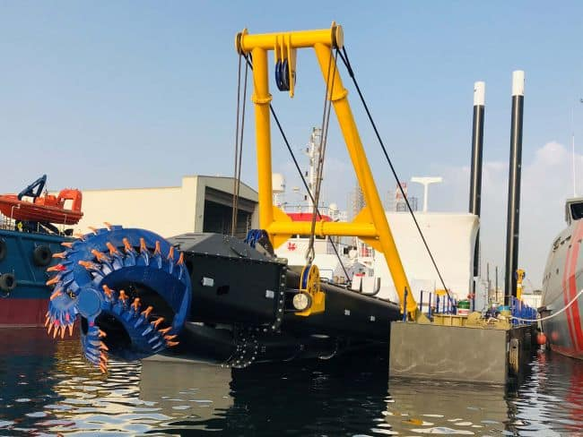 The CSD650 will undergo further trials afloat and will be ready within a few weeks time LR