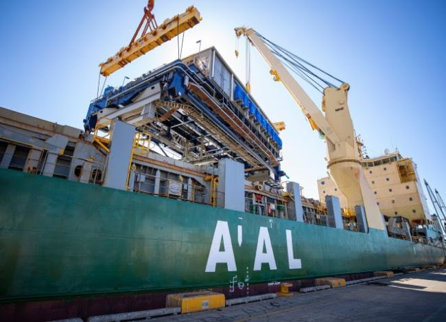 The S-Class is one of AAL's smallest fleet classes. Designed and built by AAL to service the demands
