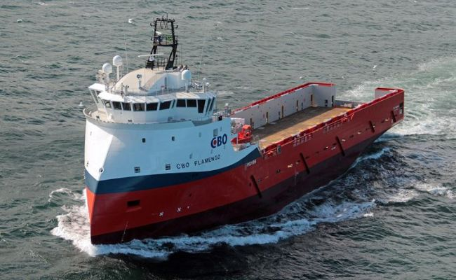 The operating efficiency of the 'CBO Flamengo' will be upgraded with installation of the Wärtsilä Hybrid Solution. ©CBO