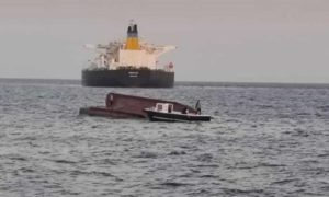 Turkish boat collision with greek cargo ship 5 dead