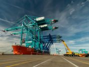 World's Largest Low-Profile Ship-to-Shore Cranes Arrive at Port Everglades -