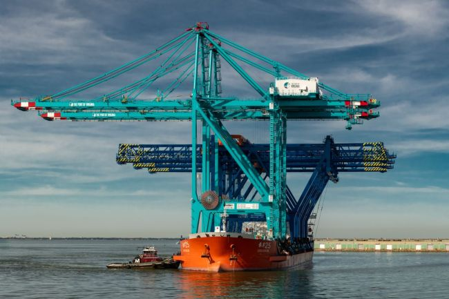 World's Largest Low-Profile Ship-to-Shore Cranes Arrive at Port Everglades
