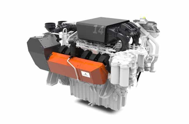 high speed wartsila 14 engine complies with the stringent EU stage V emissions standard