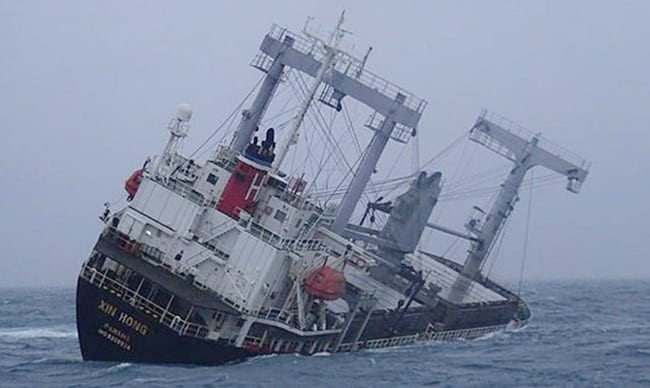 15-Seafarers-Missing-After-Cargo-Ship-Capsizes-Off-Vietnam