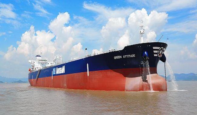 Aegean Shipping - Green Attitude - Aframax