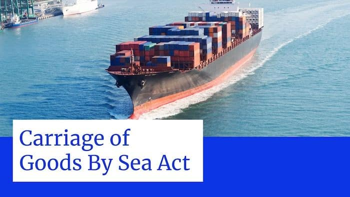 Carriage of Goods by Sea Acts