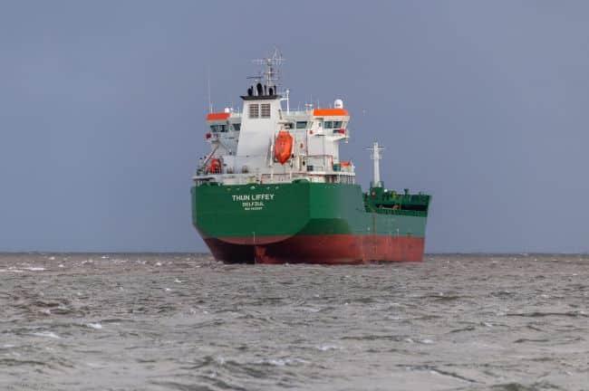 Grounded Oil Tanker In Belfast Refloated