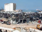 ITF Dockers solidarity helps Beirut port rebuild - blast