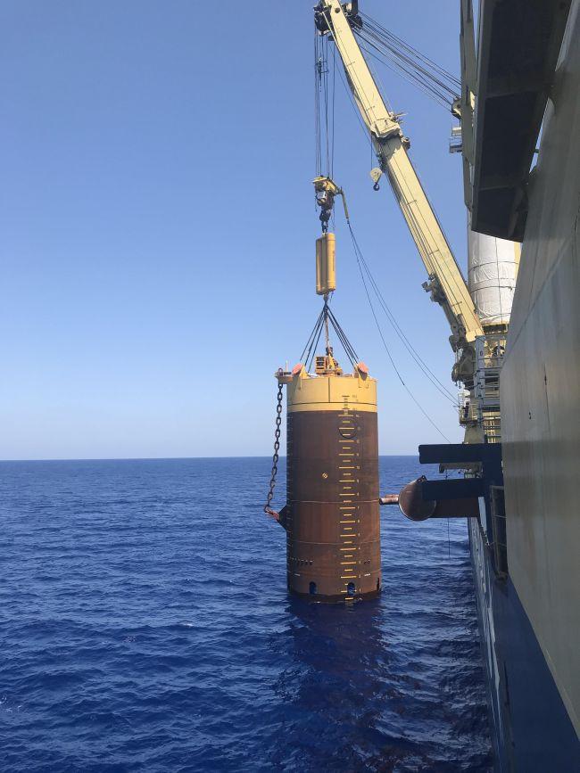 Jumbo Installs Karish FPSO Mooring System While Breaking Its Deep-Water Record In Process
