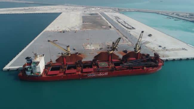 Khalifa Port's South Quay Now Operational