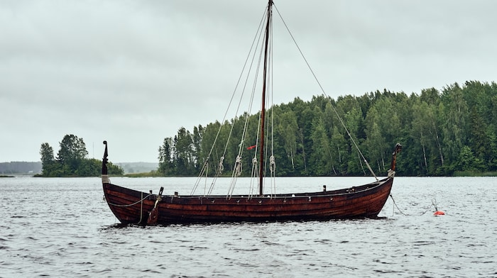 Knarr Viking Ship