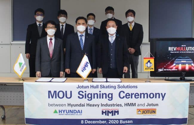 MOU HMM And HHI - Jotun Hull Cleaning
