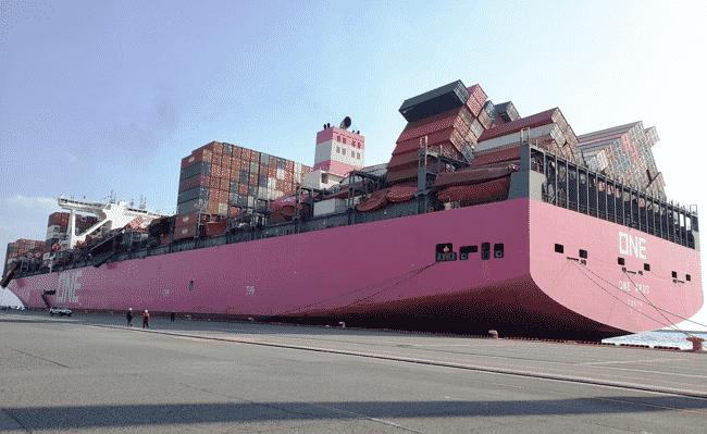 ONE-Apus-Docked-at-Kobe-Port