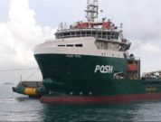 POSH Teal, 21,000 BHP towing tug capable of anchor handling towing support works