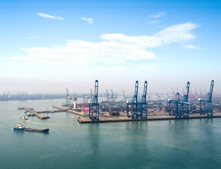 Port of Tianjin