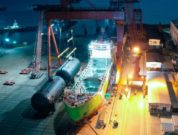 Russia's First LNG Bunkering Vessel In Its Final Stage Of Construction