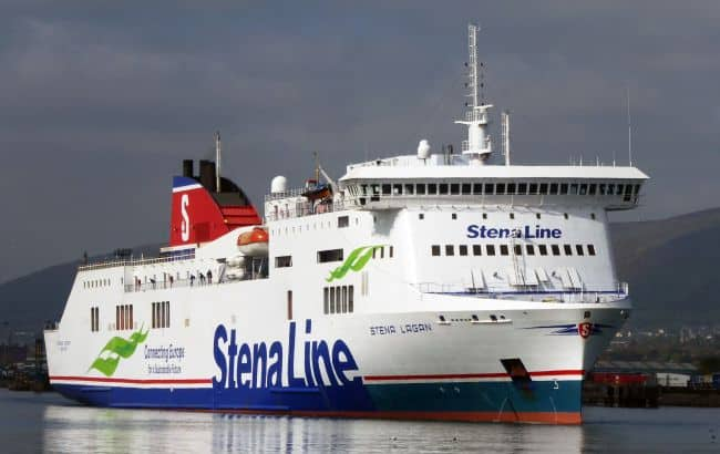 Stena Lagan is one of two lengthened Visentini vessels that will operate on Nynäshamn-Venstpils from 2021