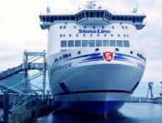 Stena Scandinavica - port of kiel shore power