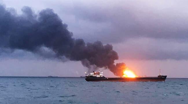 Tanker-Explosion-In-Jeddah,-Saudi-Arabia