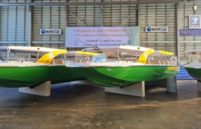 Torqeedo Powers Thailand's First Electric Passenger Ferry Fleet - BANGKOK