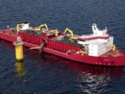 Ulstein-designed-GLDD-subsea-rock-installation-vessel- First Jones Act Compliant US offshore wind closeup