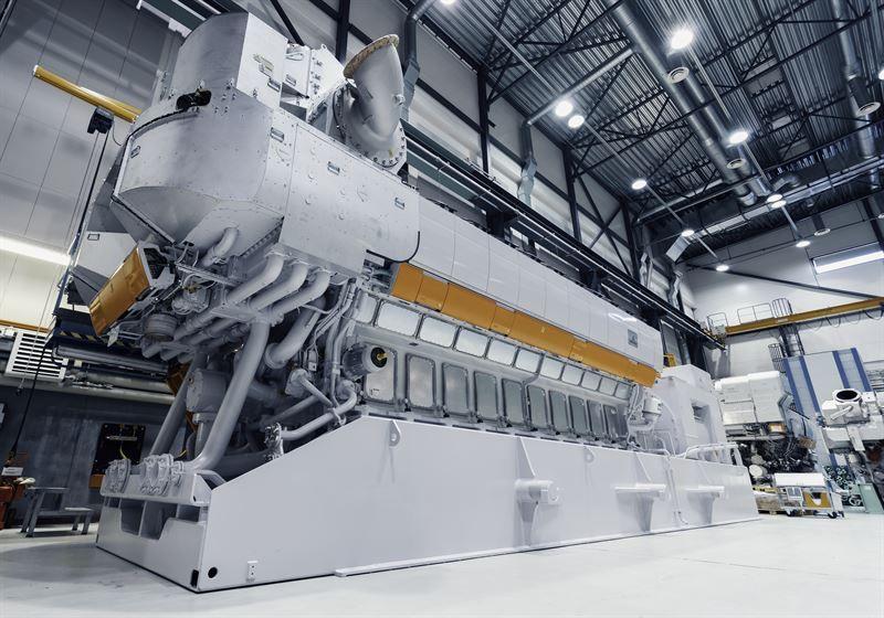 Wärtsilä 31DF engine upgrade will increase its power output and lower the level of greenhouse gas emissions. © Wärtsilä Corporation