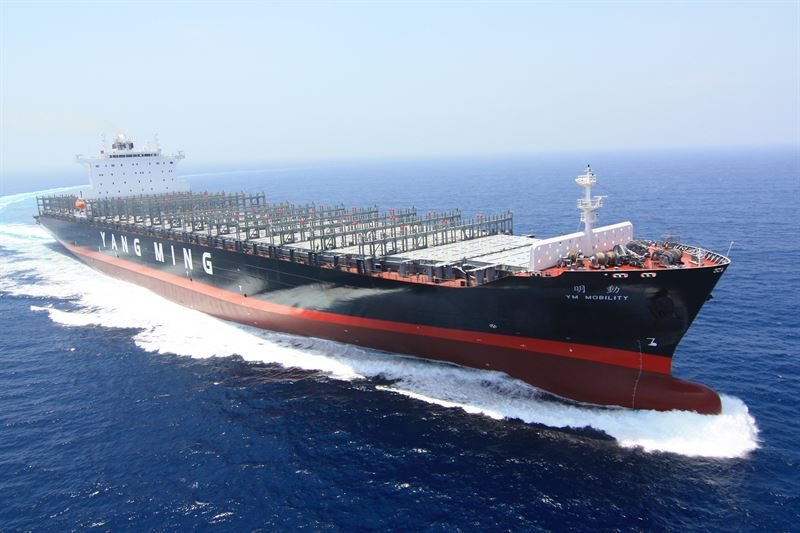 YM Mobility will be one of the latest Yang Ming vessels to be retrofitted with the Wärtsilä FPP and EnergoProFin solutions.