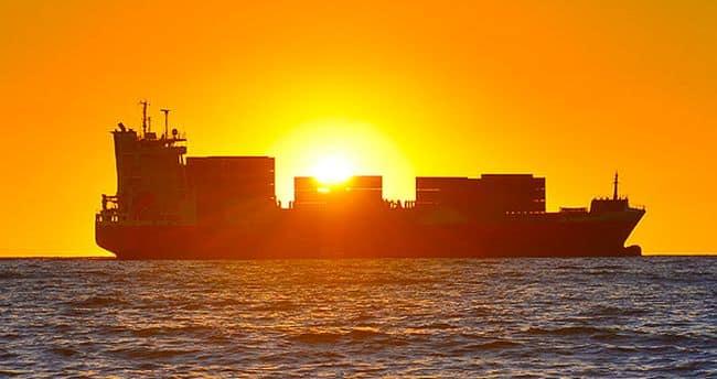 cargo ship representation