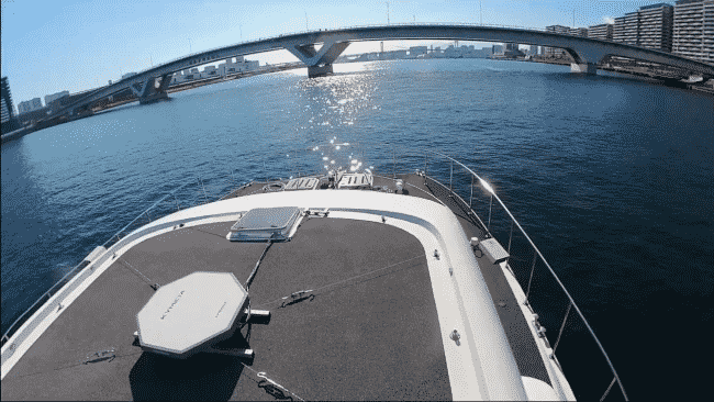 e5 Lab And Partners Succeed In Autonomous Sailing And Other Tests In Tokyo Bay
