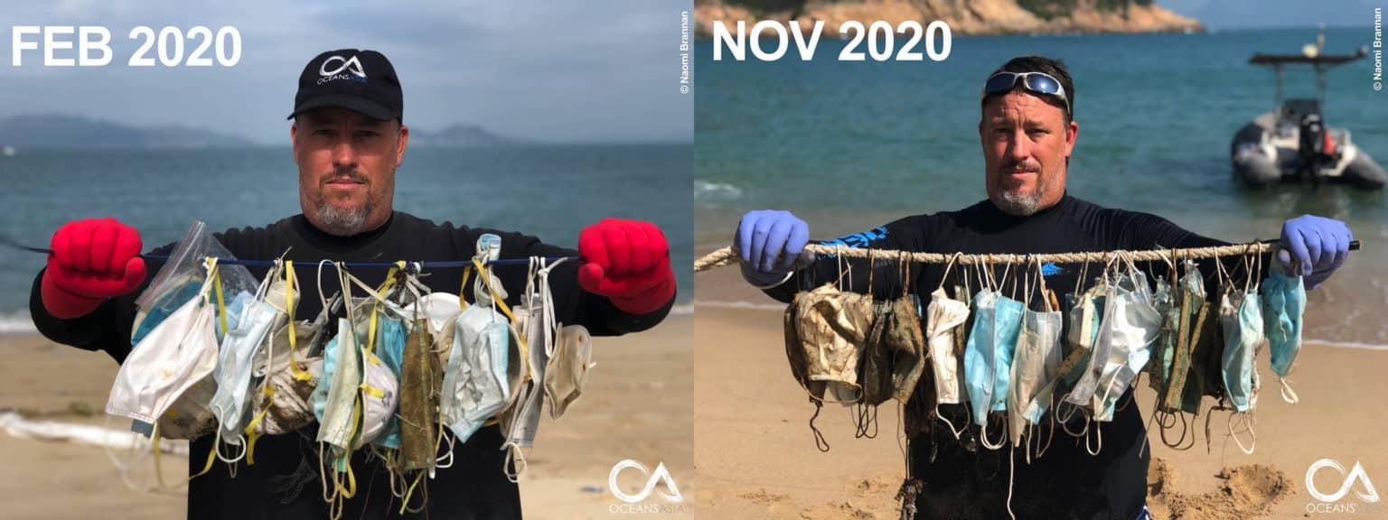 face masks pollution - oceansasia